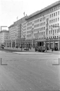 Kreuzung Koppenstraße, Stalinallee 1953