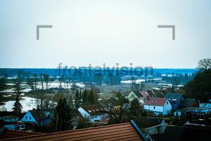 Blick auf Lebus Oder in Brandenburg