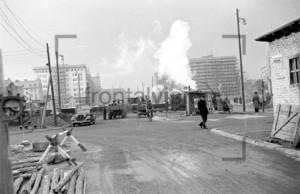Stalinallee Baustelle 1953