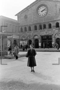 Starnberger Bahnhof Hauptbahnhof München 1956