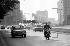 Strausberger Platz Ostberlin 1973