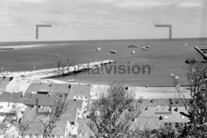 Harbour Hafen von Helgoland 1959