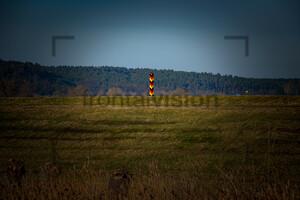 Grenzpfahl Deutschland, Polen, Boundary Post