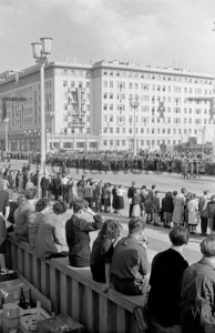 Maidemo Stalinallee 1953