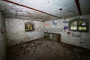 Innenaufnahme Heilstätte Grabowsee - Lung sanatorium Grabowsee