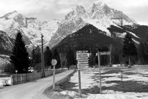 Zigeunerweg Grainau 1956
