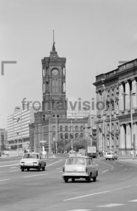 Rotes Rathaus (Red City Hall) in Berlin: Historical image