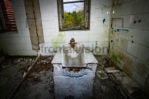 Badewanne Heilstätte Grabowsee - Lung sanatorium Grabowsee