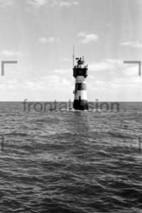Lighthouse Leuchtturm Roter Sand 1959