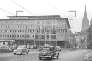 Köln Dom Gereonstrasse Börsenplatz 1955