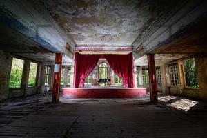 Klavier, Piano Heilstätte Grabowsee - Lung sanatorium Grabowsee