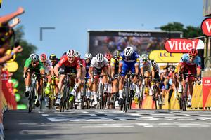 SAGAN Peter, GAVIRIA RENDON Fernando: Tour de France 2018 - Stage 4