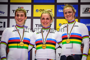 GRABOSCH Pauline Sophie, HINZE Emma, FRIEDRICH Lea Sophie: UCI Track Cycling World Championships 2020