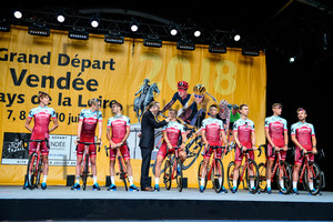 Team Katusha Alpecin: Tour de France 2018 - Teampresentation
