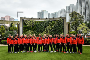 Team Photo: UCI Track World Championships 2017