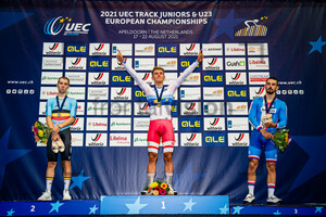 VAN DEN BOSSCHE Fabio, MALMBERG Matias, BABOR Daniel: UEC Track Cycling European Championships (U23-U19) – Apeldoorn 2021