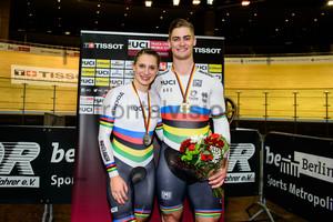 WELTE Miriam, GLAETZER Matthew: UCI Track Cycling World Cup 2018 – Berlin