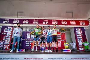 VAN DIJK Ellen, JACKSON Alison, NORSGAARD JØRGENSEN Emma Cecilie, REUSSER Marlen: SIMAC Ladie Tour - 2. Stage