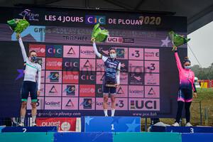 BANKS Elizabeth, DEIGNAN Elizabeth, CONSONNI Chiara: GP de Plouay - Women´s Race