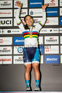 LEE Wai Sze: UCI Track Cycling World Championships 2019