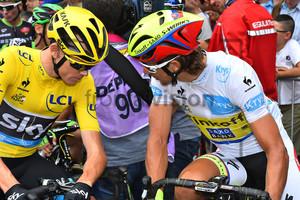FROOME Christopher, SAGAN Peter: Tour de France 2015 - 8. Stage