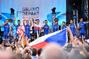Quick-Step Floors: Tour de France 2017 – Teampresentation