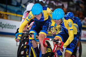 KABASHNYI Valentyn, SHCHERBAN Yurii: UEC Track Cycling European Championships (U23-U19) – Apeldoorn 2021