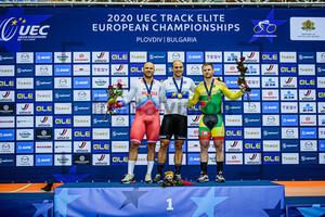 DMITRIEV Denis, LEVY Maximilian, LENDEL Vasilijus: UEC Track Cycling European Championships 2020 – Plovdiv