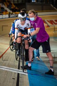 EBERLE Lana: UEC Track Cycling European Championships (U23-U19) – Apeldoorn 2021