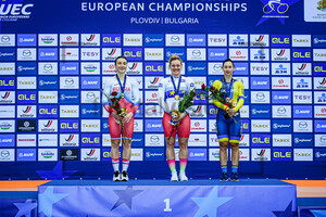 SHMELEVA Daria, VOINOVA Anastasiia, STARIKOVA Olena: UEC Track Cycling European Championships 2020 – Plovdiv