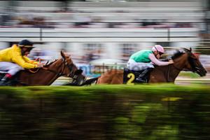LECOEUVRE Clement: Horse Race Course Hoppegarten
