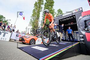 VAN DIJK Ellen: UCI Road Cycling World Championships 2020