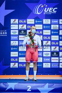 DMITRIEV Denis: UEC Track Cycling European Championships 2020 – Plovdiv
