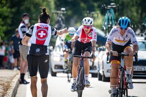 WINTERBERG Joline: UEC Road Cycling European Championships - Trento 2021