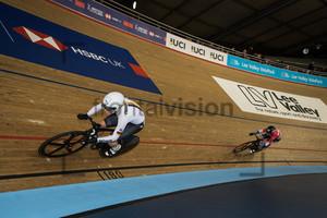 HINZE Emma, VON RIESSEN Laurine: UCI Track Cycling World Cup 2018 – London