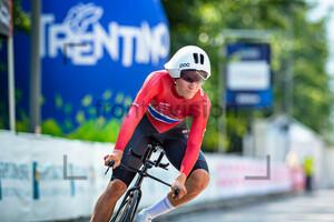 HOLTHER Trym Bjørner Westgaard: UEC Road Cycling European Championships - Trento 2021