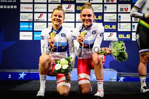 DIDERIKSEN Amalie, LETH Julie: UEC Track Cycling European Championships 2019 – Apeldoorn