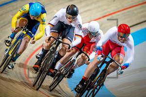 DENYSENKO Vladyslav, ROSTOV Pavel, HÖHNE Anton, HLOVA Aliaksandr, BURAWSKI Konrad: UEC Track Cycling European Championships (U23-U19) – Apeldoorn 2021