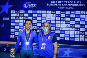 DONEGA Matteo, VILLA Marco: UEC Track Cycling European Championships 2020 – Plovdiv