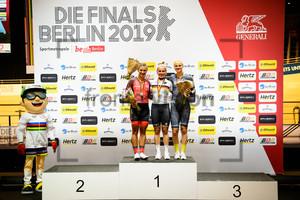 WELTE Miriam, HINZE Emma, FRIEDRICH Lea Sophie: German Track Cycling Championships 2019