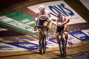 KLUGE Roger, REINHARDT Theo:  Lotto Z6s daagse Vlaanderen-Gent 2019