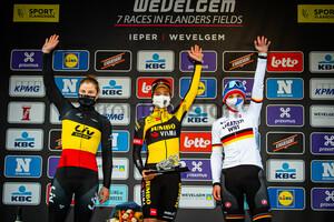 KOPECKY Lotte, BRENNAUER Lisa, VOS Marianne: Gent - Wevelgem 2021 - Women