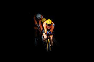 MOLLEMA Bauke, VAN EMDEN Jos, BOUWMAN Koen: UEC Road Cycling European Championships - Trento 2021