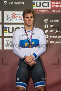 HOOGLAND Jeffrey: UCI Track Cycling World Cup 2018 – London
