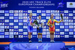 KANKOVSKA Sara, STARIKOVA Olena, CASAS ROIGE Helena: UEC Track Cycling European Championships 2020 – Plovdiv