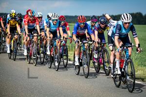 DEIGNAN Elizabeth, CORDON-RAGOT Audrey, VAN DIJK Ellen: LOTTO Thüringen Ladies Tour 2021 - 4. Stage