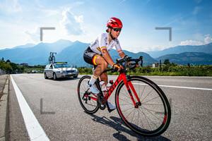 GARCIA MUÑOZ Lucia: UEC Road Cycling European Championships - Trento 2021