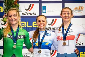 GILLESPIE Lara, ZANARDI Silvia, SMITH Abi: UEC Track Cycling European Championships (U23-U19) – Apeldoorn 2021