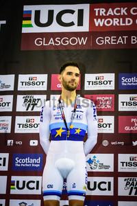 THOMAS Benjamin: UCI Track Cycling World Cup 2019 – Glasgow