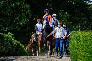 PECHEUR Maxim: Horse Race Course Hoppegarten